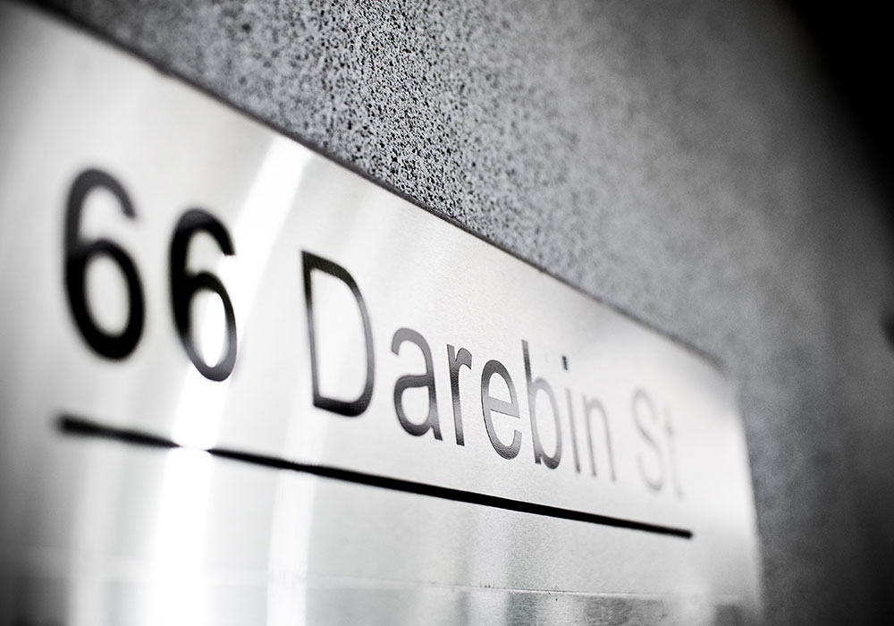 66 Darebin St Consulting